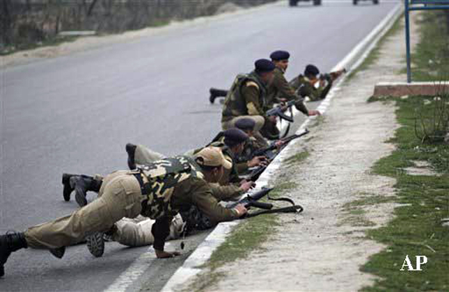 Five CRPF jawans were killed and four to five other jawans were injured in a shootout outside a CRPF post near a public school in Srinagar.