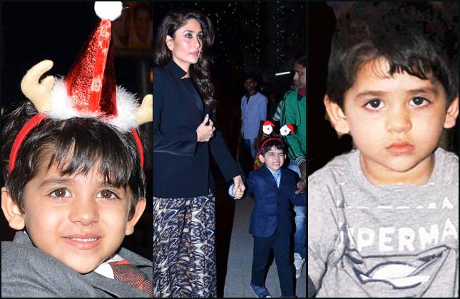 Photo of Karisma Kapoor & her Son  Kiaan Raj Kapoor