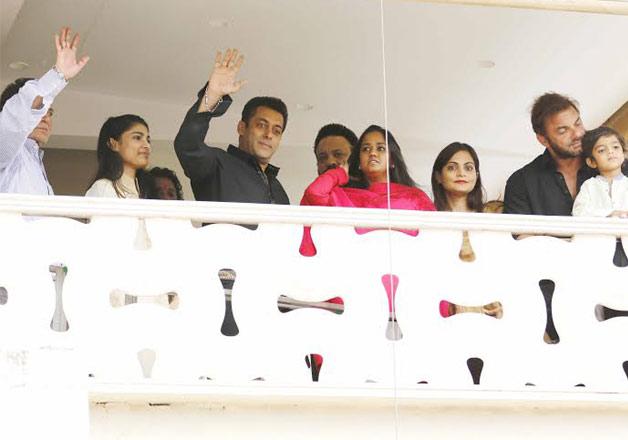 .Aamir-Preity, B-town attends Salman Khan Eid bash