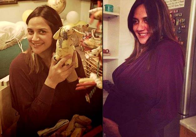 Ahana Deol baby shower inside pics