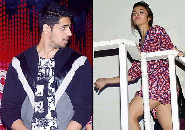 Alia Bhatt, Sidharth Malhotra at MTV coke studio press meet