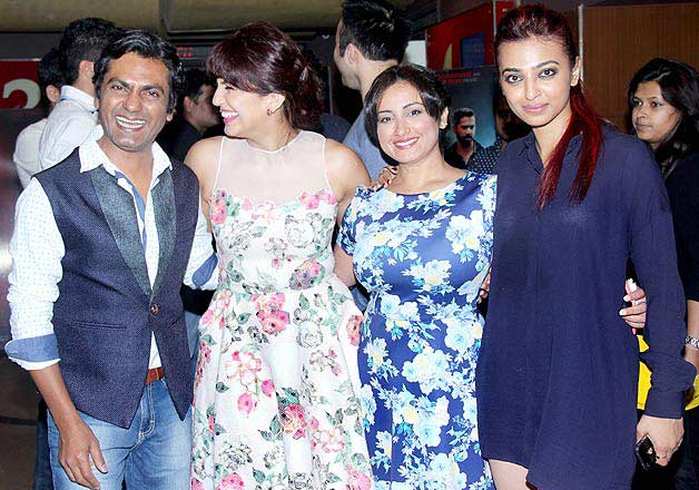 Badlapur starcast and others at its film screening