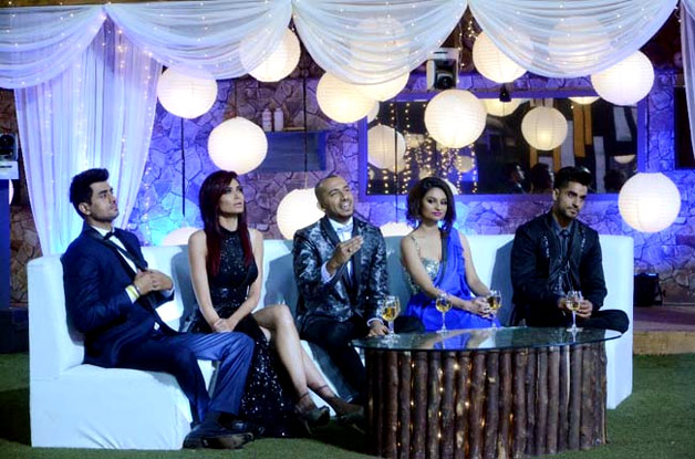 Bigg Boss grand finale inside pics