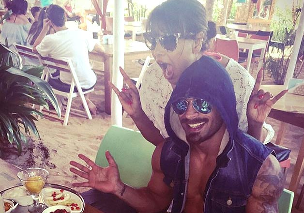 Bipasha Basu ravels Karan Singh Grover  birthday in exotic Goa