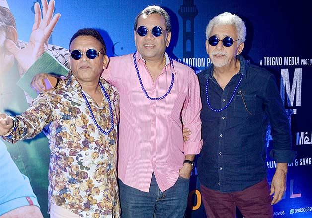 Bollywood veterans launch the trailer of Dharam Sankat Mein
