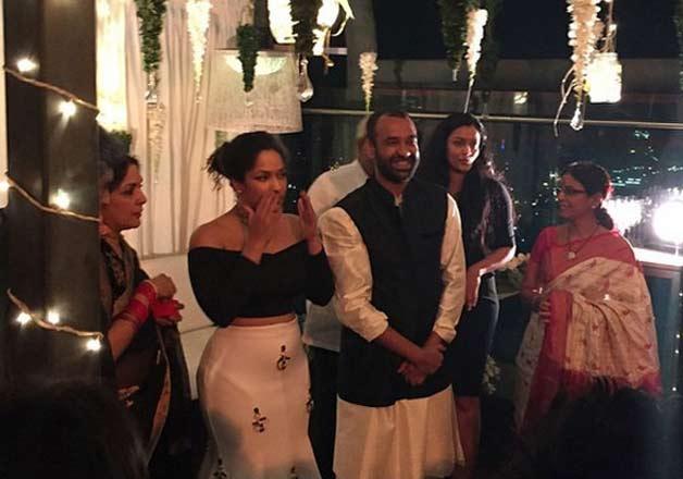Celebs attend Masaba Gupta engaged ceremony