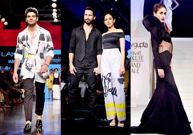 .Celebs scorching the ramp at Lakme Fashion Week 2015