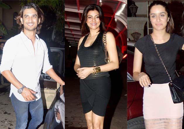 Deepika-Ranveer, Shraddha, Sushmita attend birthday bash of Karim Morani!