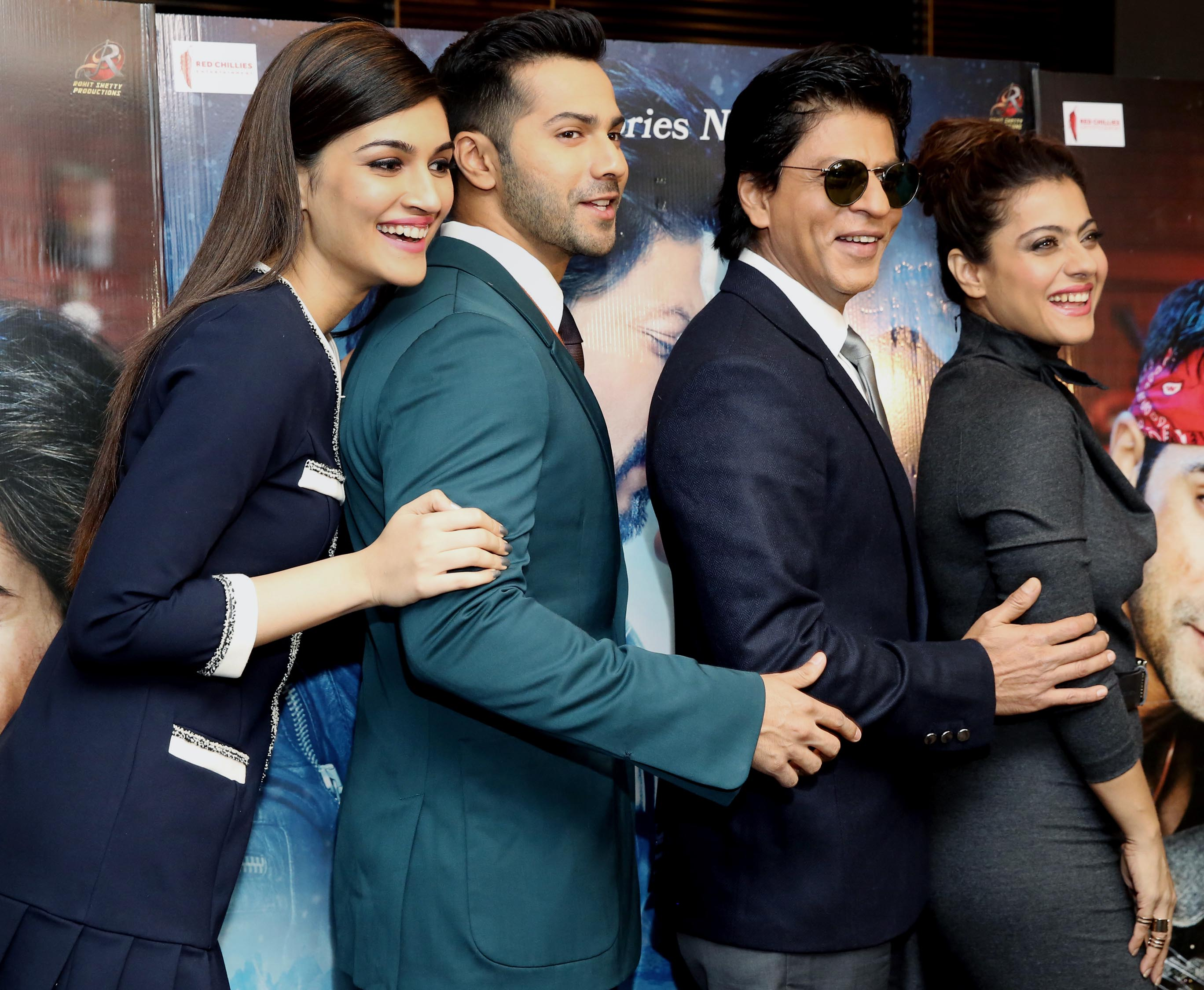 Dilwale team in London for promotions
