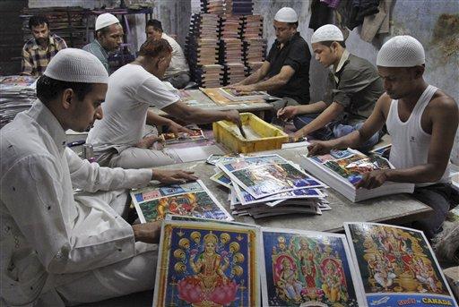 Diwali Festival Preparations