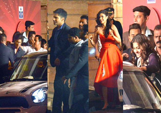 Fabulous Dilwale team spotted at an event in Mumbai
