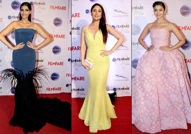 Filmfare Style and Glamour Awards 2015 red carpet pics