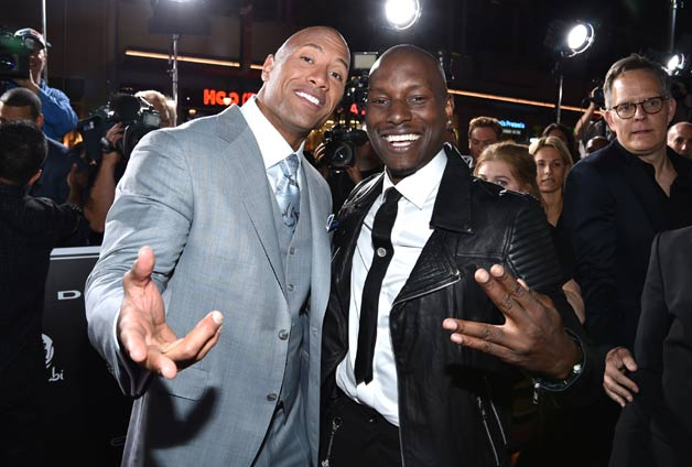 Furious 7 starry premiere in Los Angeles
