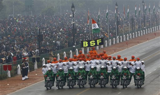 India Celebrates 66th Republic Day