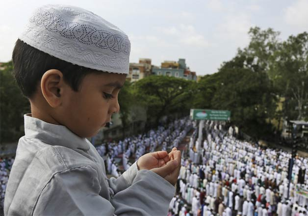 India celebrates Eid with fervor, gaiety
