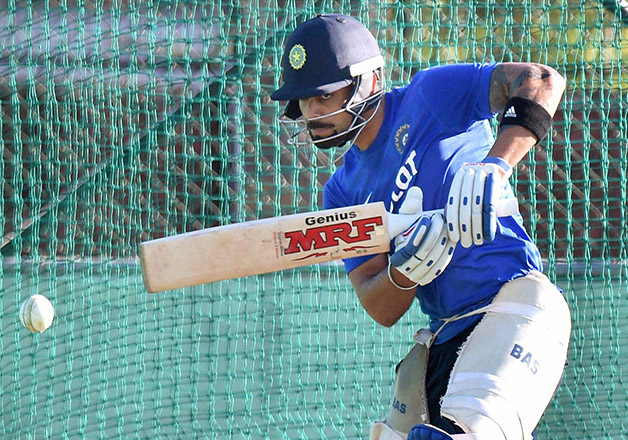 .India vs South Africa practice session ahead of Twenty20 series in Dharamshala