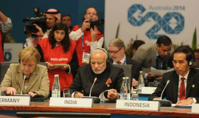 Indian PM Narendra Modi at G20 Summit