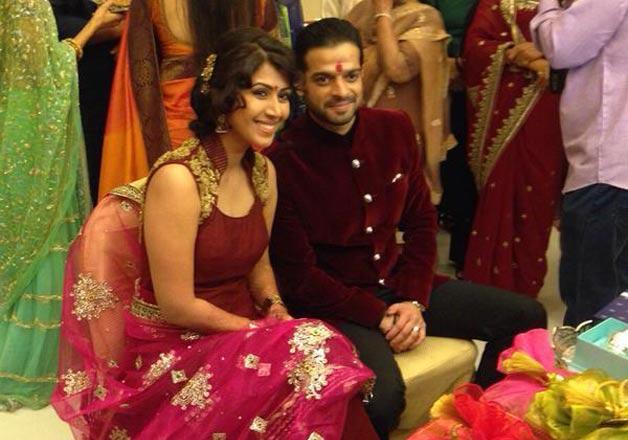 Karan Patel and Ankita Bhargava Roka ceremony pics