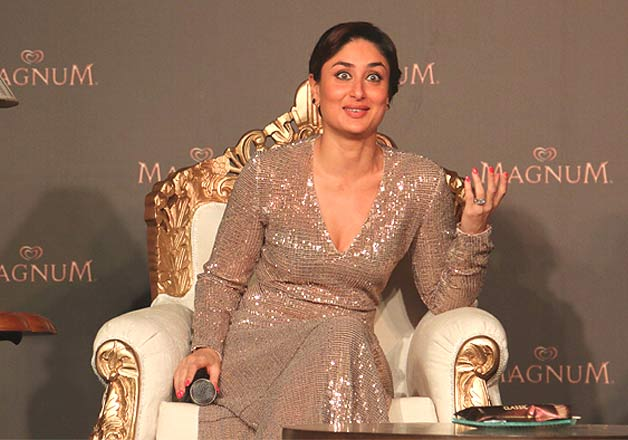 Kareena Kapoor spills royalty with her shimmery gown at a launch event