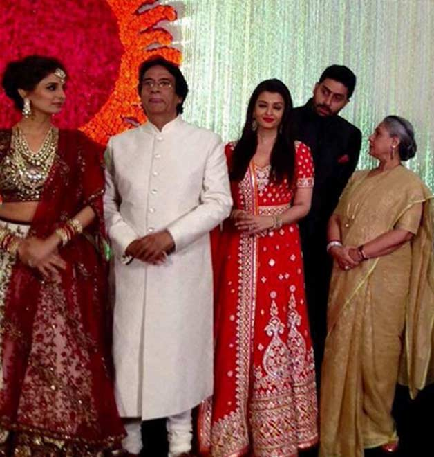 Kunal Kapoor-Naina Bachchan wedding reception