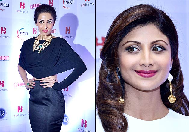 Malaika Arora Khan-Shilpa Shetty played Yin and Yang at event