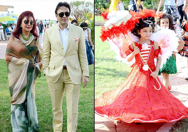 Ness Wadia and others at Gladrags Mrs India 2015 contest