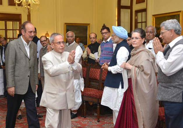 President meeting with Opposition leaders on Land Bill