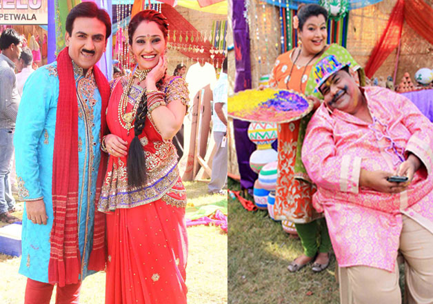 SAB TV Holi Celebration at Madh Island