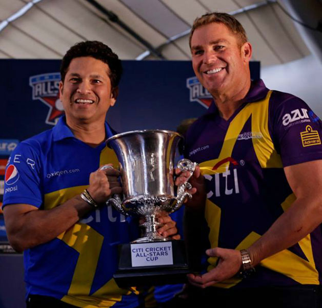 Sachin Tendulkar, Shane Warne bring cricket to US with All Star series