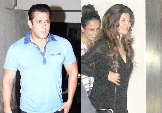 .Salman Khan, Ex-girlfriend Sangeeta Bijlani attends special screening of Bajrangi Bhaijaan