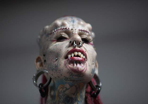 Scary tattoo and body piercing trends