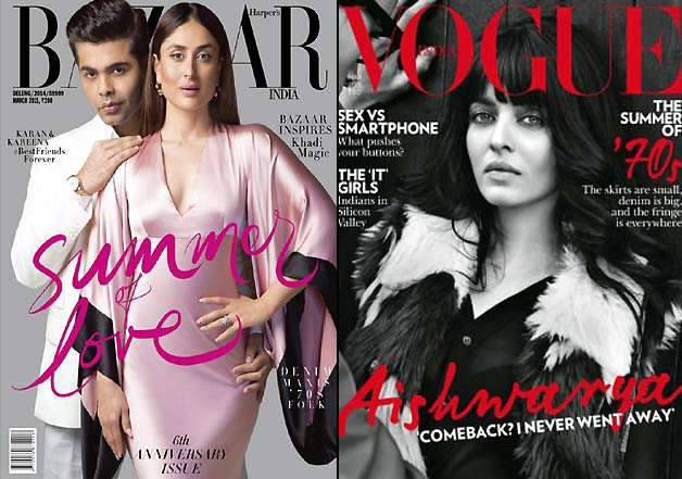 Sexy B-town divas turn cover girls for March 2015