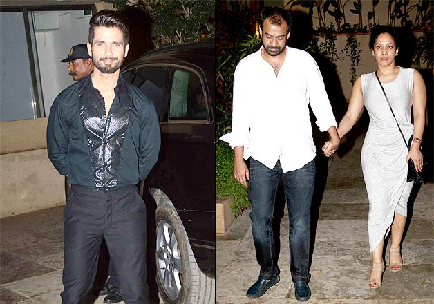 Shahid Kapoor birthday party unravels hidden couples