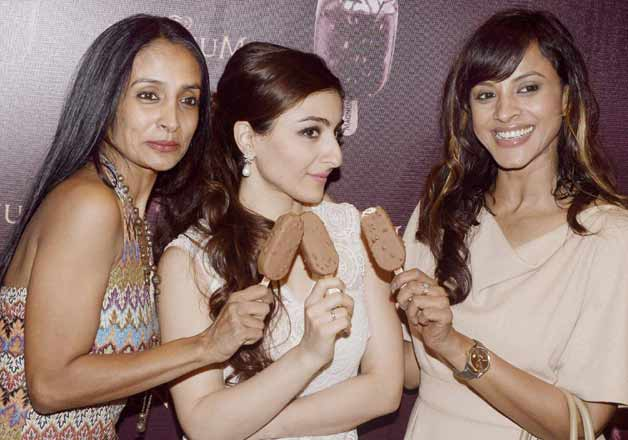Soha Ali Khan launches a new flavour of Magnum Icecream