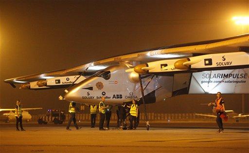 Solar Impulse: World first solar powered plane