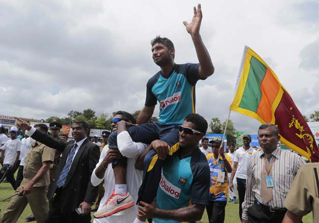 .Sri Lankan legend Kumar Sangakkara bids farewell to International Cricket
