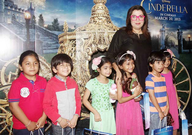 Star kids watch special screening of Cinderella