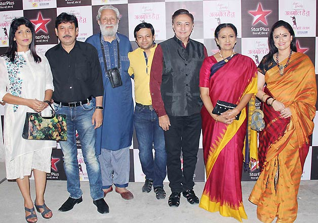 TV celebs at Anmol Hai Tu - Nayi Soch Ko Salaam by Star Plus
