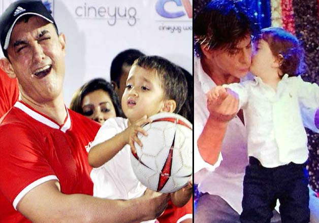 Top five Bollywood star kids