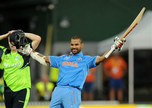 World Cup 2015: Dhoni surpasses Ganguly record as India trounce Ireland by 8 wickets