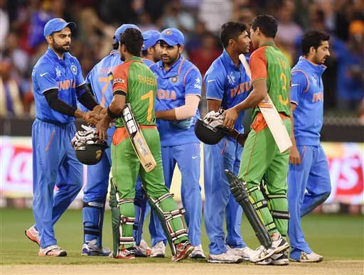 World Cup 2015: India thumped Bangladesh to enter semifinals
