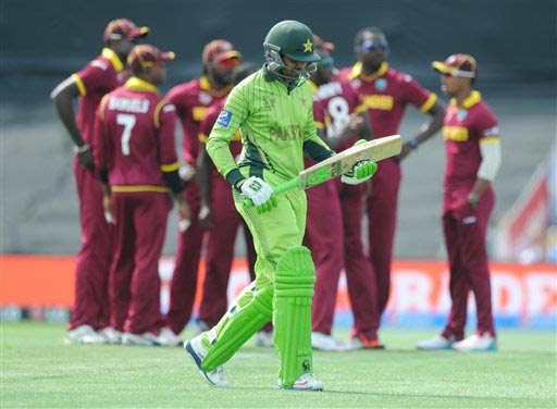 World Cup 2015: Pakistan lost a Mauka to make a comeback against West Indies