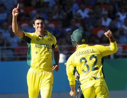 World Cup 2015: Starc 6 wickets in vain as New Zealand beat Australia by 1 wicket