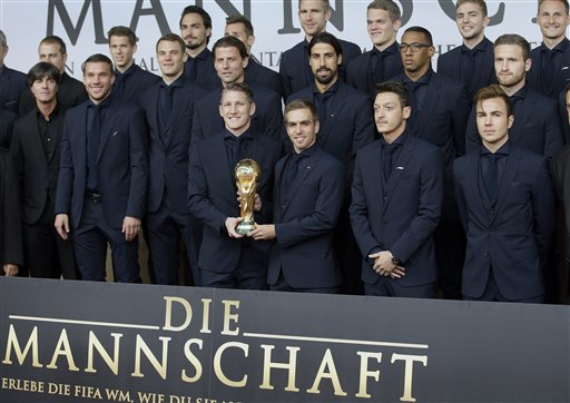 World Cup win of Germany immortalized in film