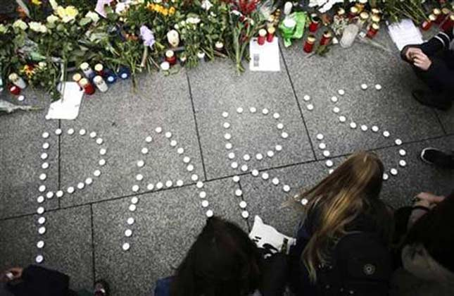 World mourns the deadly Paris attacks