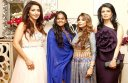 Arpita Khan Sharma with Evelyn and others at Falguni and Shane Peacock Bridal Asia preview