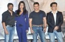 Kabir Khan, Katrina Kaif, Saif Ali Khan at Phantom trailer launch