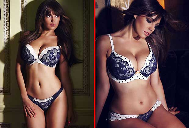 7d80102b5f3 Hollywood hottie Kelly Brook sizzles up this Valentine!