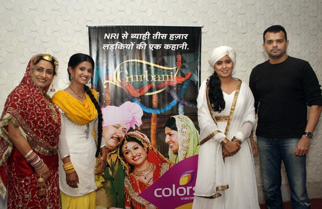 colors tv serial gurbani press meet