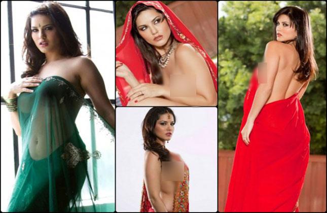 Sunny Leone Chooses Saree Over Bikini